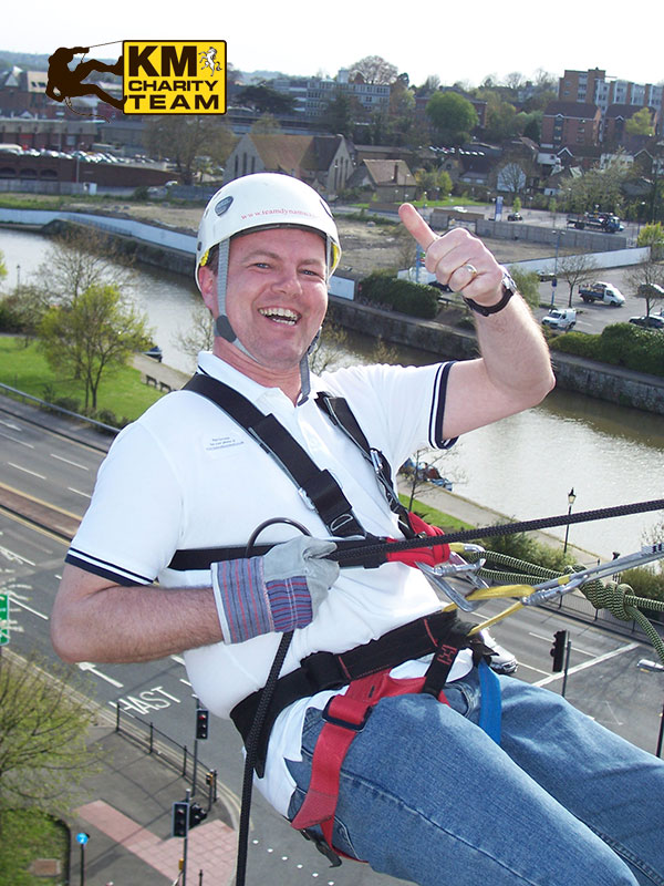The Abseil is taking place in Maidstone on March 21st 2020